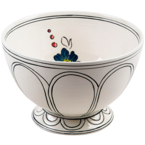 Flower Patch Serving Bowl