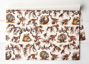Thanksgiving Toile Placemat- 24 sheets