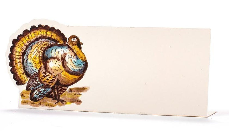 Thanksgiving Turkey Place Cards- set of 12