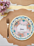 Die Cut Kraft French Frame Placemats-Set of 12