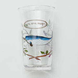 Narwhal Menagerie Juice Glass