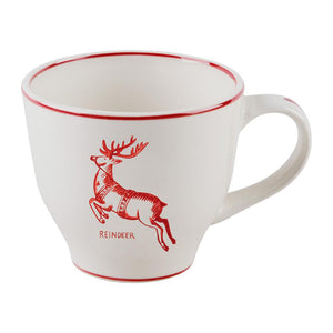 Reindeer Holiday Icon Mug