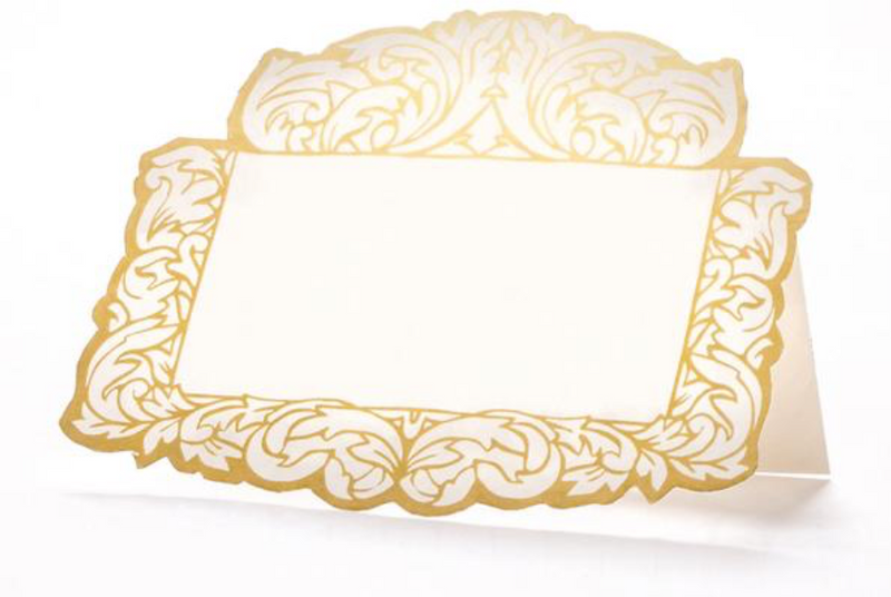 Gilded Frame Place Cards | Molly Hatch