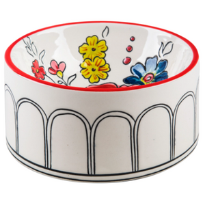 Flower Patch Pet Bowl