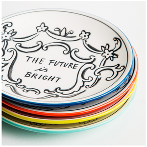 Good Thoughts dessert Plates