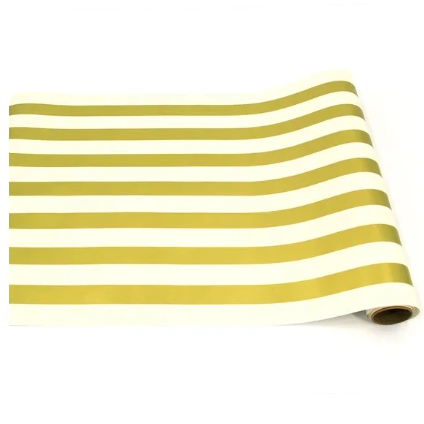 Gold Classic Stripe Paper Runner