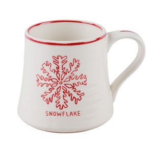 Snowflake Holiday Mug