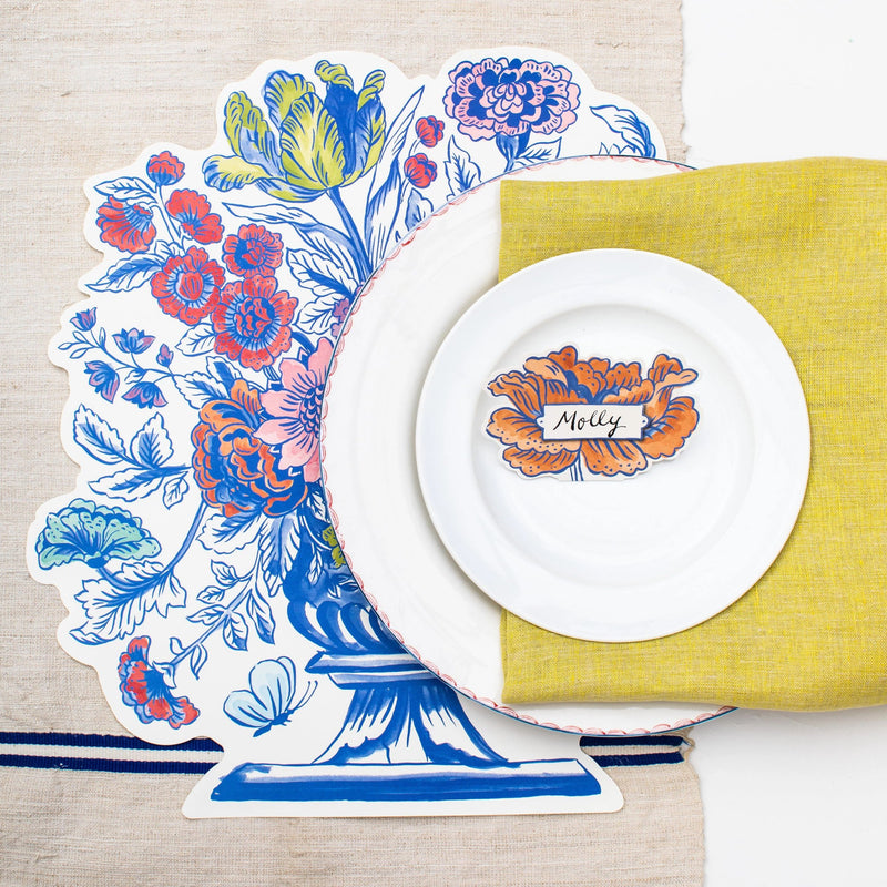 Die Cut Jardiniere Placemats Set Of 12 Molly Hatch