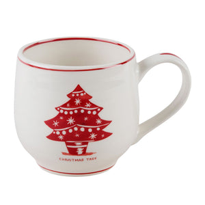 Christmas Tree Holiday Icon Mug
