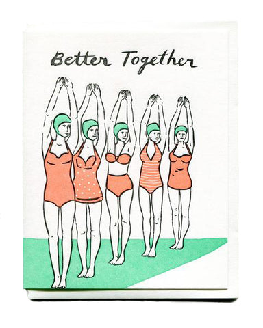 Better Together Friendship Card