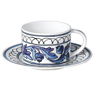 Blue Bird Cup and Saucer Set