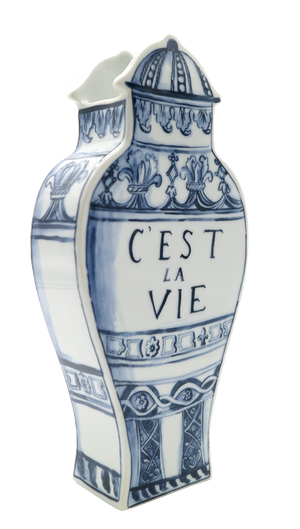 Well Versed Vase LARGE C'est La Vie