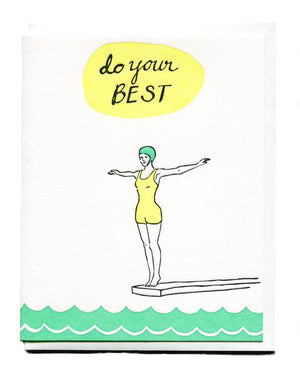 Do Your Best Encouragement Card