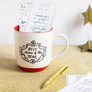 "Gifting Mug ""Best Time of Year"""