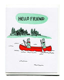 Hello Friend Friendship Card