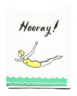 Hooray! Congratulations Card