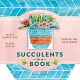 Succulents in a Book