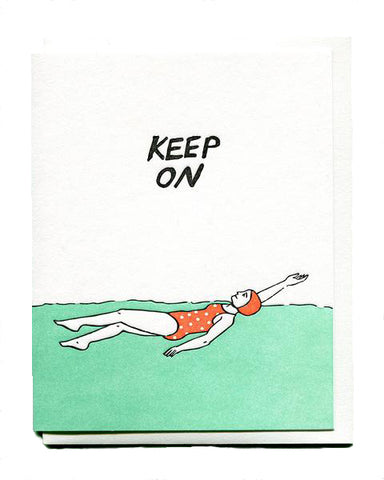 Keep On Empathy Card