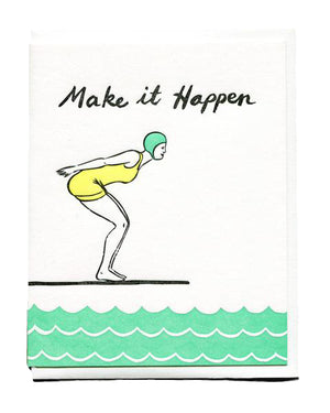 Make It Happen Encouragement Card