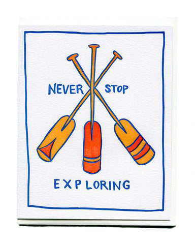 Never Stop Exploring Empathy Card