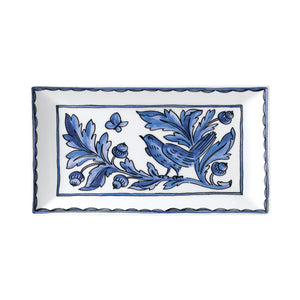 Blue Bird Rectangular Serving Platter