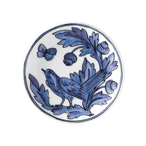 Blue Bird Set of Two Dessert Plates