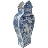 Well Versed Vase Blue