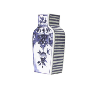 Well Versed Vase Small Blue