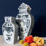 Well Versed Vase Small Gray