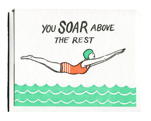 You Soar Above the Rest Friendship Card