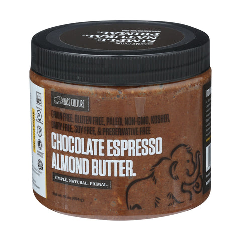 Base Culture Chocolate Espresso Almond Butter