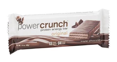PowerCrunch Protein Energy Bar Triple Chocolate (1.4 Oz)