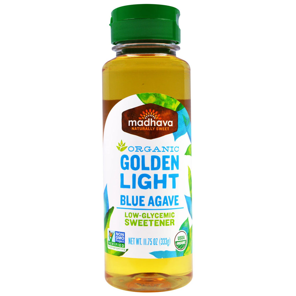 Madhava Organic Golden Light Blue Agave (11.75 Oz)