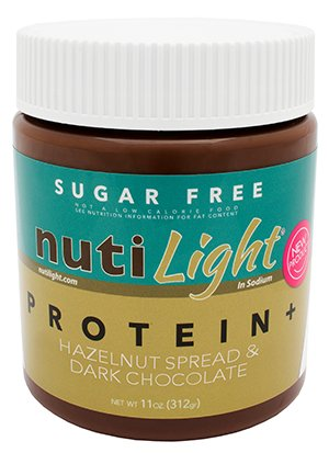 Nutilight Protein Hazelnut Spread & Dark Chocolate 11 OZ