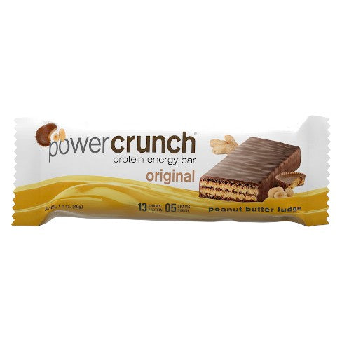 PowerCrunch Protein Energy Bar Peanut Butter Fudge (1.4 Oz)