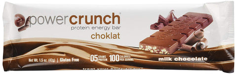 PowerCrunch Protein Energy Bar Milk Chocolate (1.4 Oz)