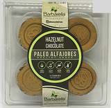 Barbarella Hazelnut & Chocolate Paleo Alfajores - 4 units