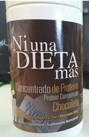 NI UNA DIETA MAS Protein Concentrate Chocolate 12.7oz