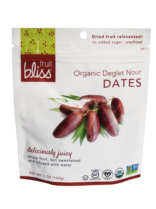 Fruit Bliss Organic Deglet Nour Dates 5 OZ