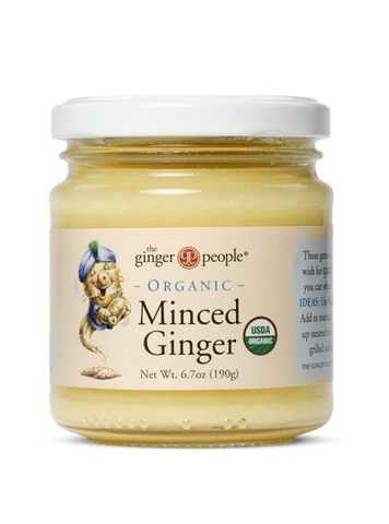 Ginger People Organic Minced Ginger (6.7 Oz)