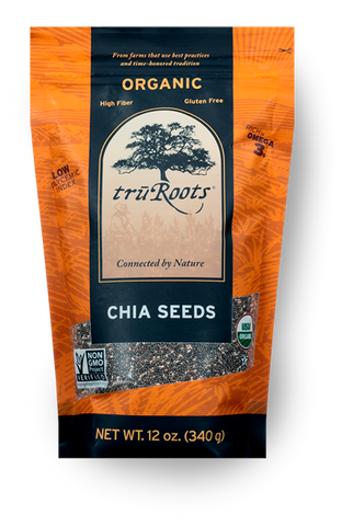 Tru Roots Organic Chia seeds (12OZ)