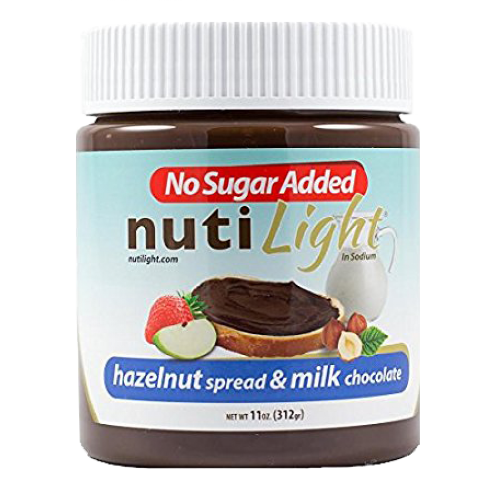 Nutilight Hazelnut Spread & Milk Chocolate 11 OZ