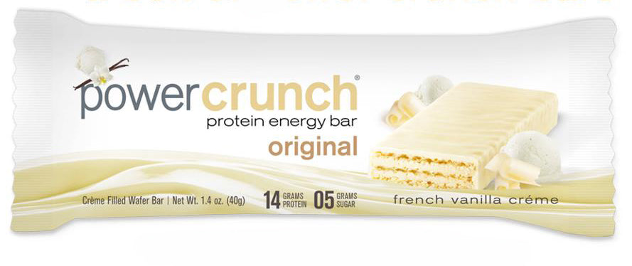 PowerCrunch Protein Energy Bar French Vanilla Creme (1.4 Oz)