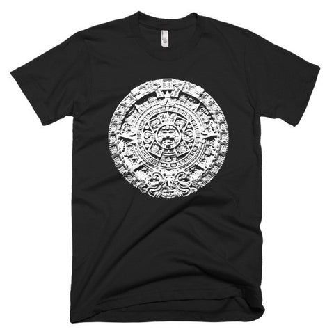 Aztec CalendarShort sleeve men's t-shirt