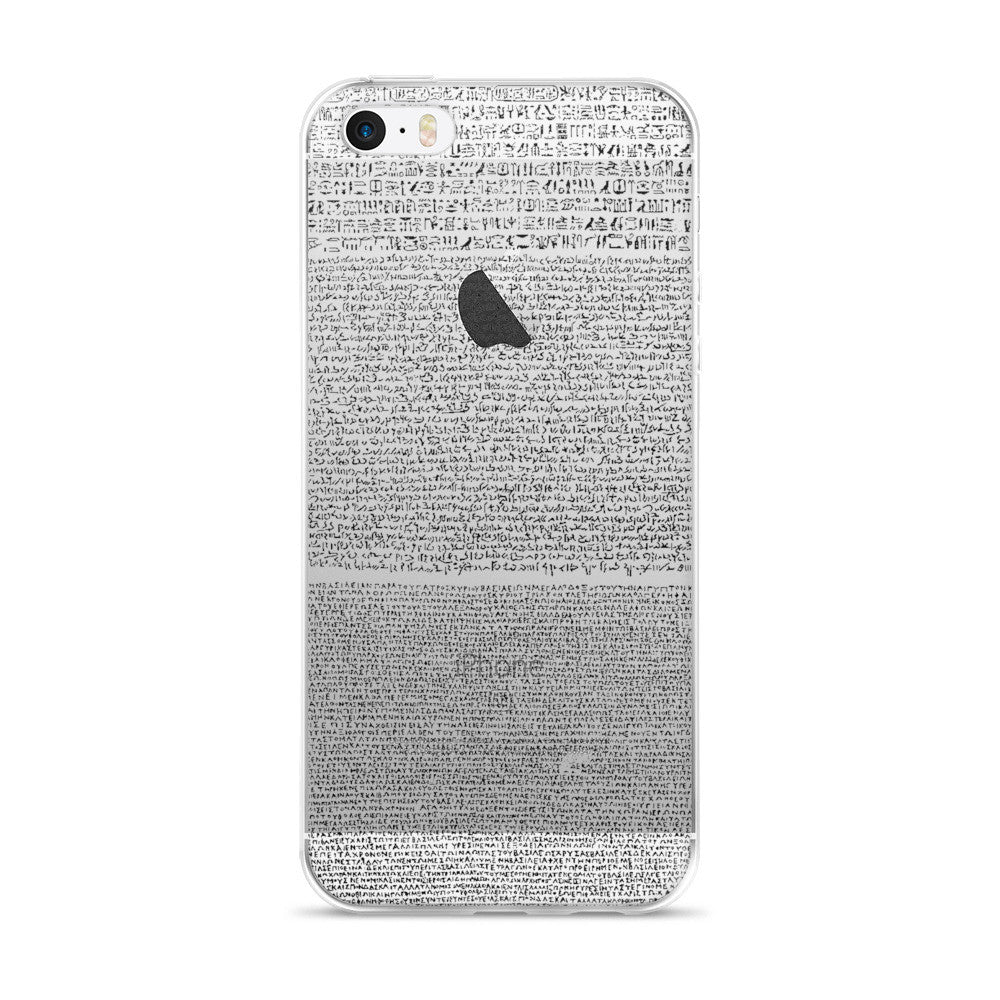 Rosetta Stone iPhone 5/5s/Se, 6/6s, 6/6s Plus Case