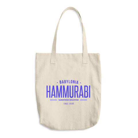 Hammurabi Barristers and Solicitors Cotton Tote Bag
