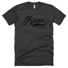 ROME EST 753 BC BLK Short sleeve soft t-shirt