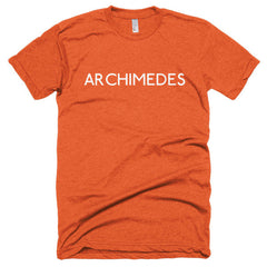 Archimedes Short sleeve soft t-shirt