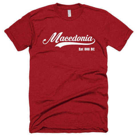 Macedonia Short sleeve soft t-shirt