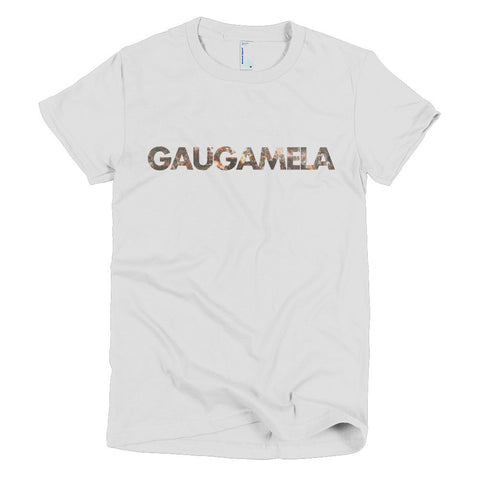 Battle of Gaugamela - Short sleeve women's t-shirt